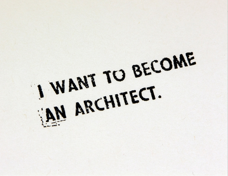 want become architect essay Why would one want to be an architect/study architecture update cancel answer wiki 3 answers luis diaz i can tell you why i'm desperate to become an architect.